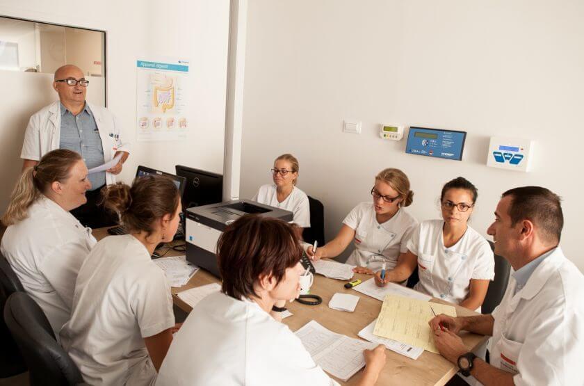 equipe soignante - hopital suisse de paris - hospitalisation - 92130 - issy les moulineaux
